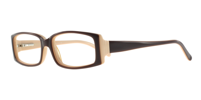 Cappuccino C1215AC1040 Eyeglasses - 45 Degree View