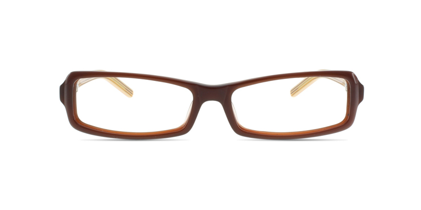 Cappuccino C1218AC10D Eyeglasses - Front View