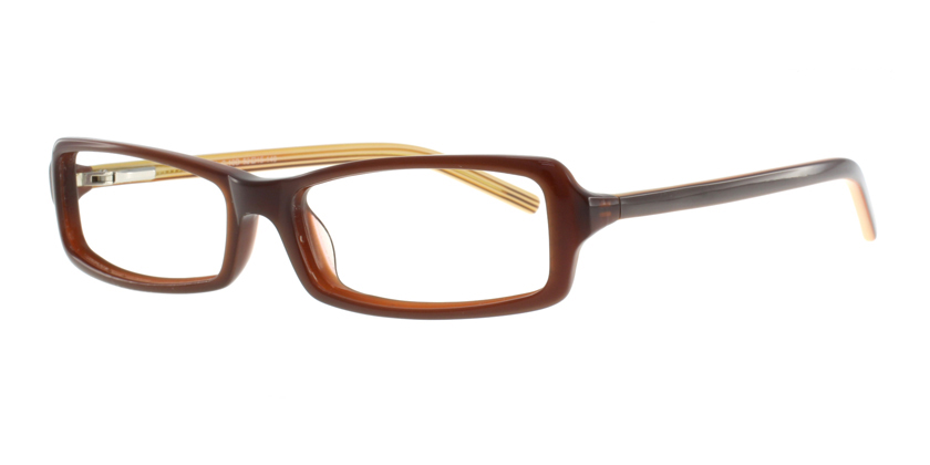 Cappuccino C1218AC10D Eyeglasses - 45 Degree View