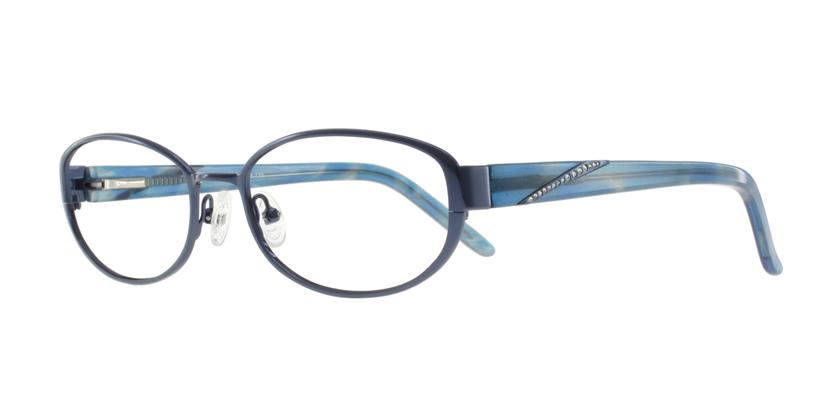 Cappuccino K803NAC20 Eyeglasses - 45 Degree View