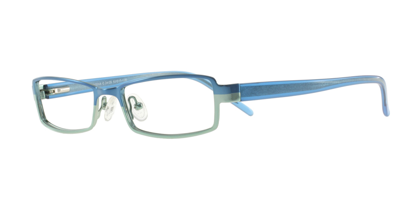 Cappuccino K805NAC2425 Eyeglasses - 45 Degree View