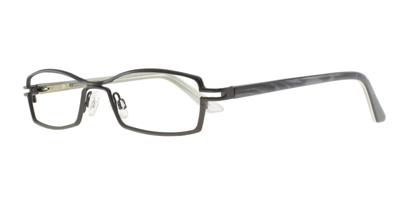 Cappuccino K818NAC02 Eyeglasses - 45 Degree View