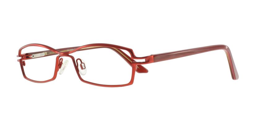 Cappuccino K818NAC51 Eyeglasses - 45 Degree View