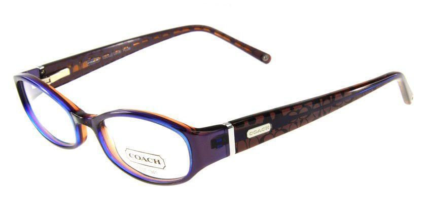 Coach HC2018012 Eyeglasses - 45 Degree View