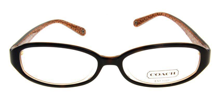 Coach HC748AF215 Eyeglasses - Front View