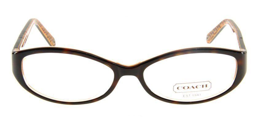 Coach HC749AF215 Eyeglasses - Front View