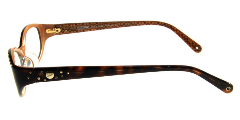 Coach HC749AF215 Eyeglasses - Side View