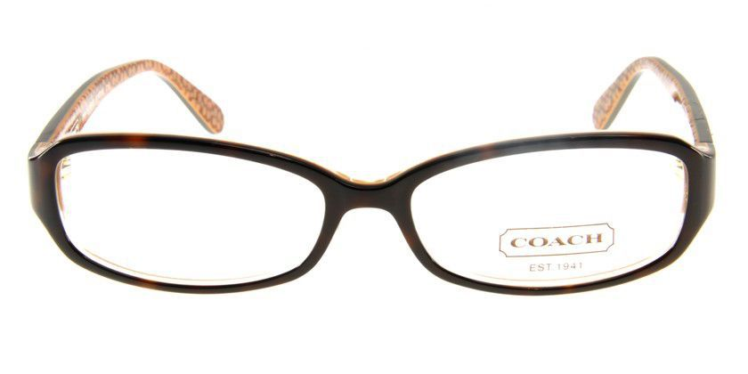 Coach HC763AF215 Eyeglasses - Front View