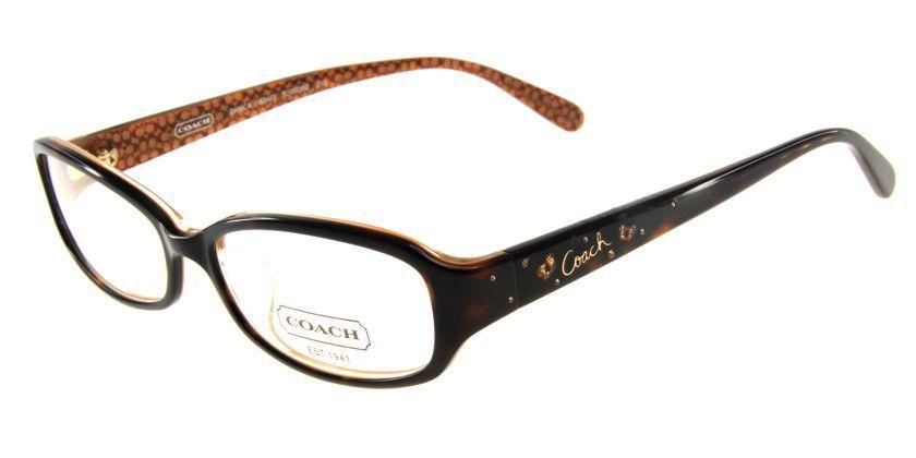 Coach HC763AF215 Eyeglasses - 45 Degree View