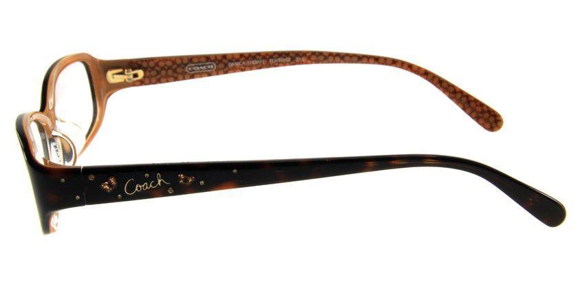 Coach HC763AF215 Eyeglasses - Side View