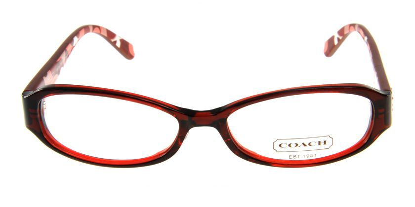 Coach HC766AF614 Eyeglasses - Front View