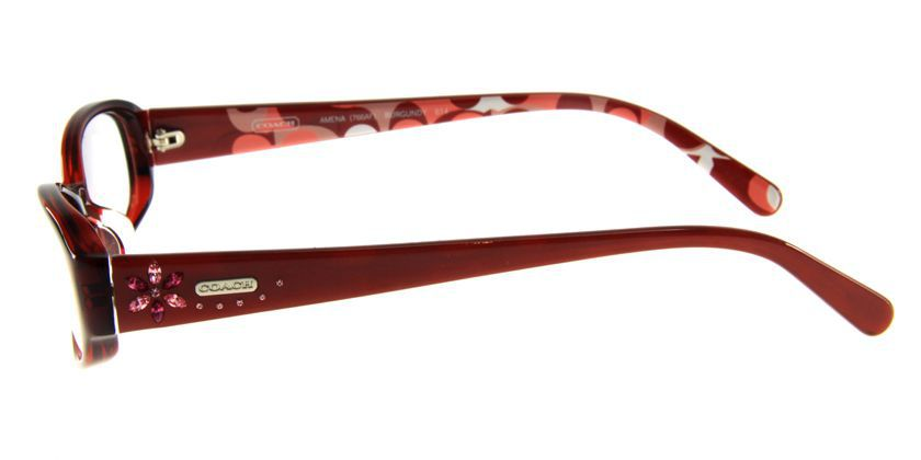 Coach HC766AF614 Eyeglasses - Side View