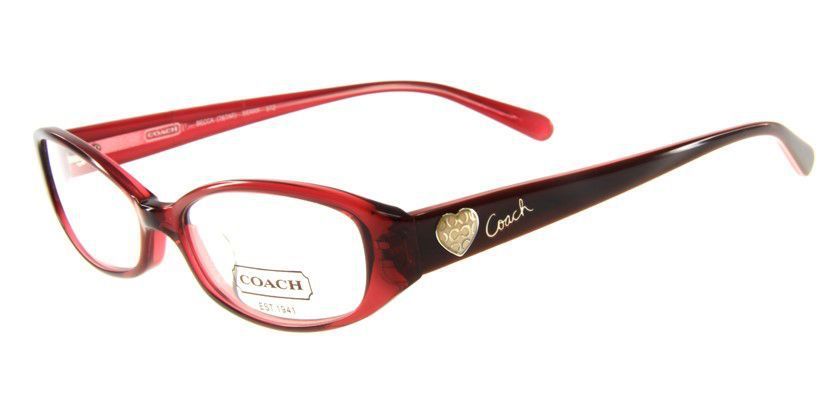 Coach HC767AF512 Eyeglasses - 45 Degree View