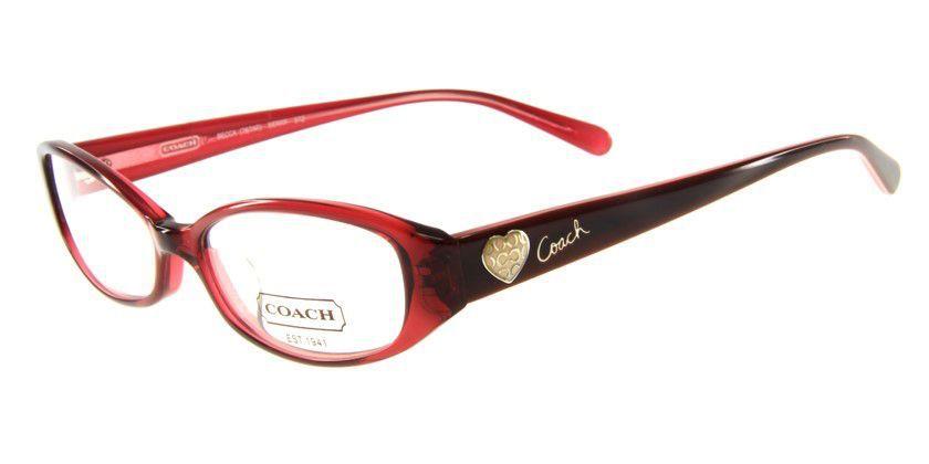 Coach HC767AF512 Eyeglasses - 45 Degree View