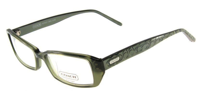 Coach HC839907P Eyeglasses - 45 Degree View