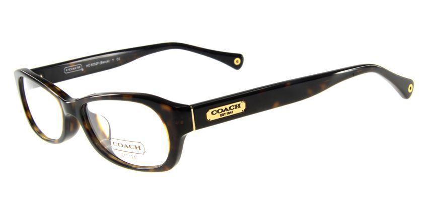 Coach HCHC6032FT5001 Eyeglasses - 45 Degree View