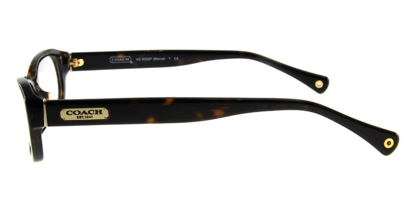 Coach HCHC6032FT5001 Eyeglasses - Side View