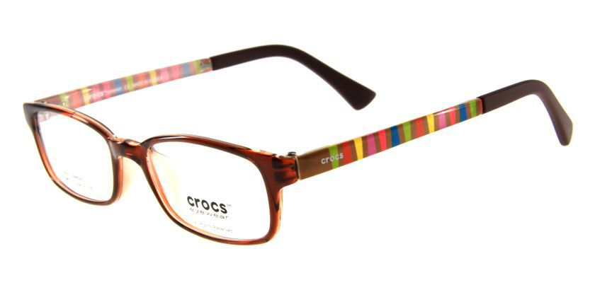 Crocs CF02340BN Eyeglasses - 45 Degree View