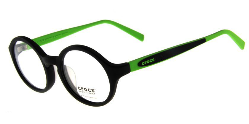 Crocs CF03020GN Eyeglasses - 45 Degree View