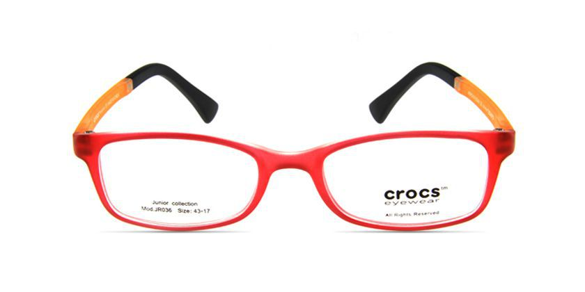 Crocs CF03615YW Eyeglasses - Front View