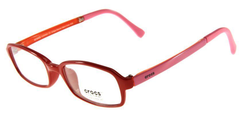Crocs CF03715PK Eyeglasses - 45 Degree View
