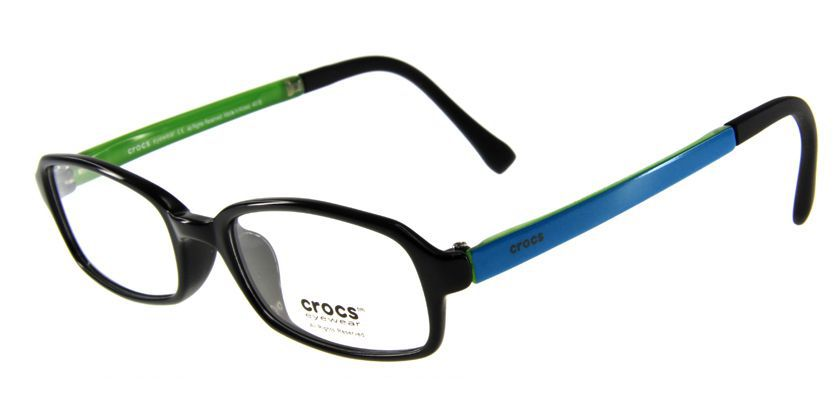 Crocs CF03720BE Eyeglasses - 45 Degree View