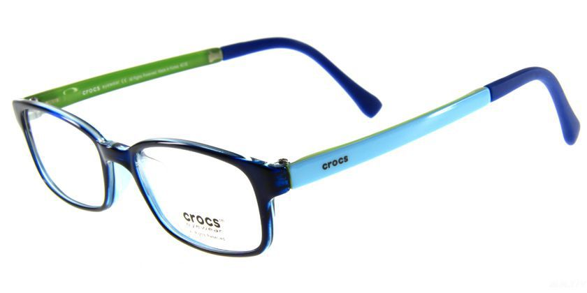 Crocs CF03950BE Eyeglasses - 45 Degree View