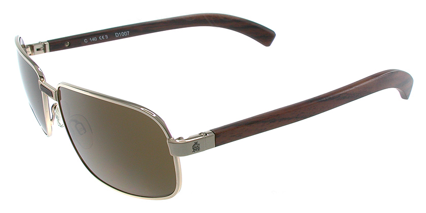 Dunhill D1007CYL Sunglasses - 45 Degree View