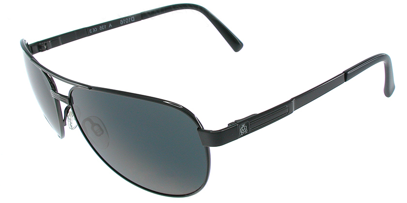 Dunhill D1016ABK Sunglasses - 45 Degree View