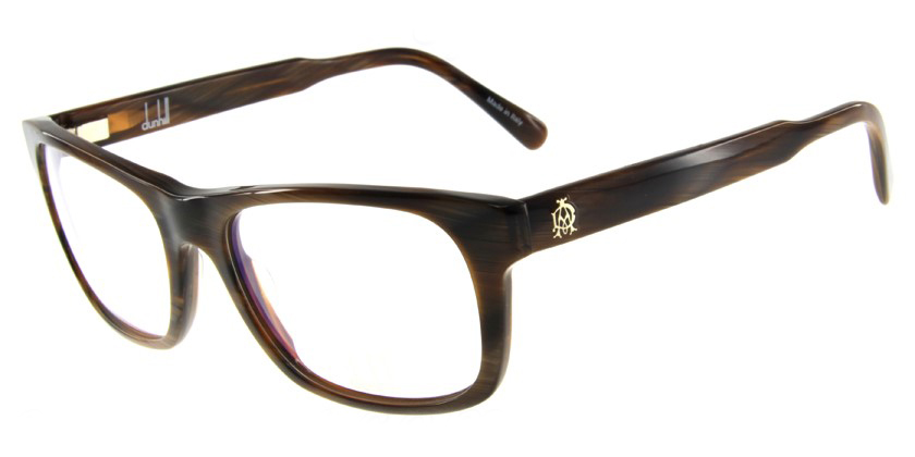Dunhill D4006BBN Eyeglasses - 45 Degree View