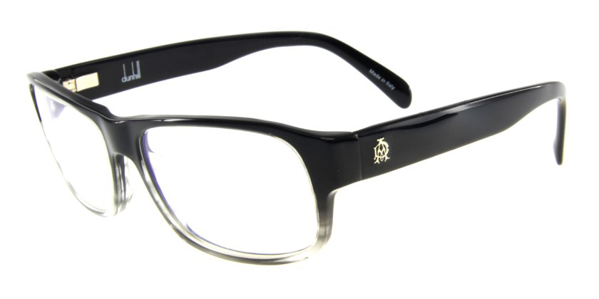 Dunhill D4008BBK Eyeglasses - 45 Degree View