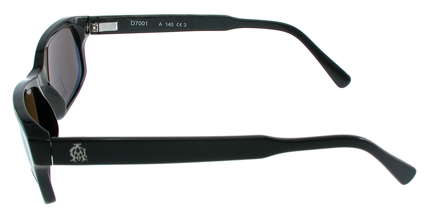 Dunhill D7001ABK Sunglasses - Side View