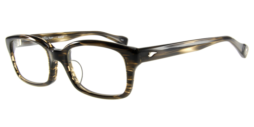 Effector NOISEBKH Eyeglasses - 45 Degree View