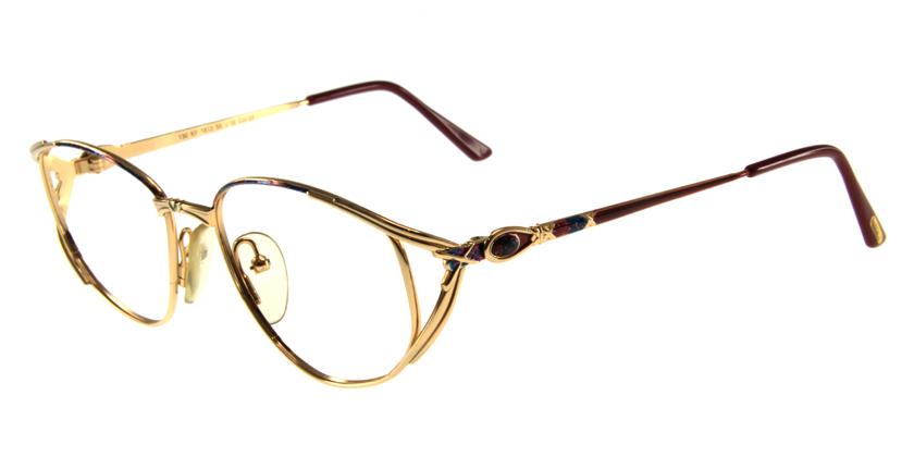Faberge FBKF1813YL Eyeglasses - 45 Degree View