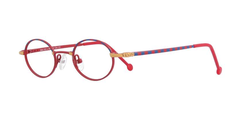 Felix 103211 Eyeglasses - 45 Degree View