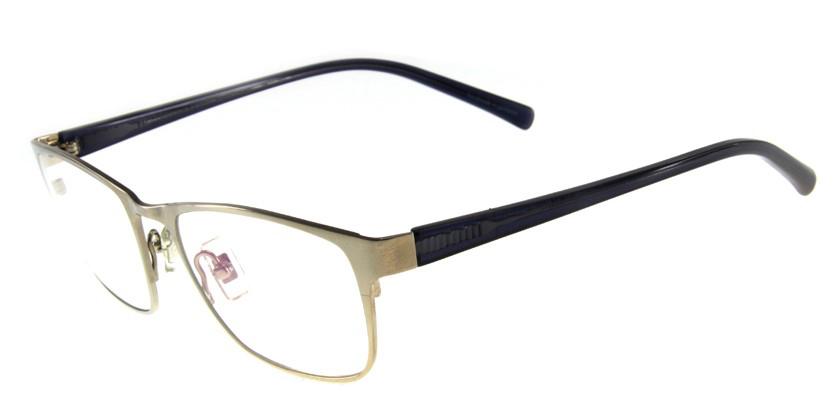 Freudenhaus FETHEOLGNSMOKE Eyeglasses - 45 Degree View