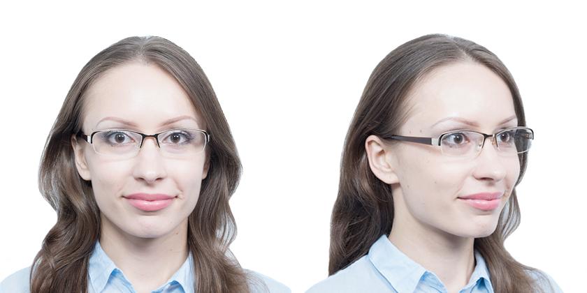 Fukui F264C1 Eyeglasses - Try On View
