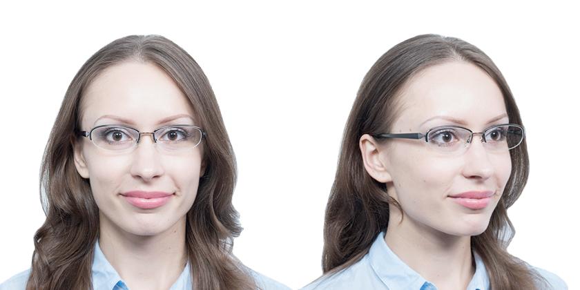 Fukui F268C5 Eyeglasses - Try On View