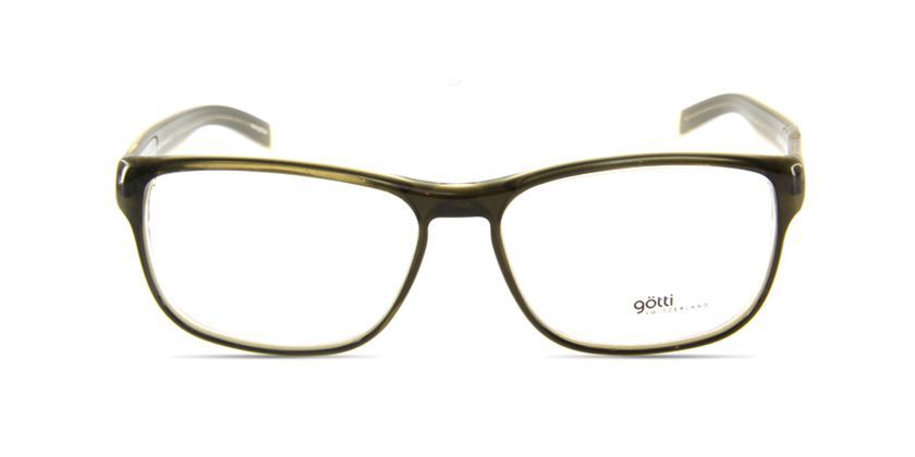 Gotti GTADAMGRNYGN Eyeglasses - Front View