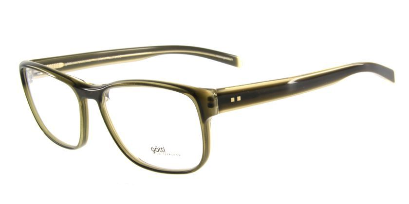 Gotti GTADAMGRNYGN Eyeglasses - 45 Degree View