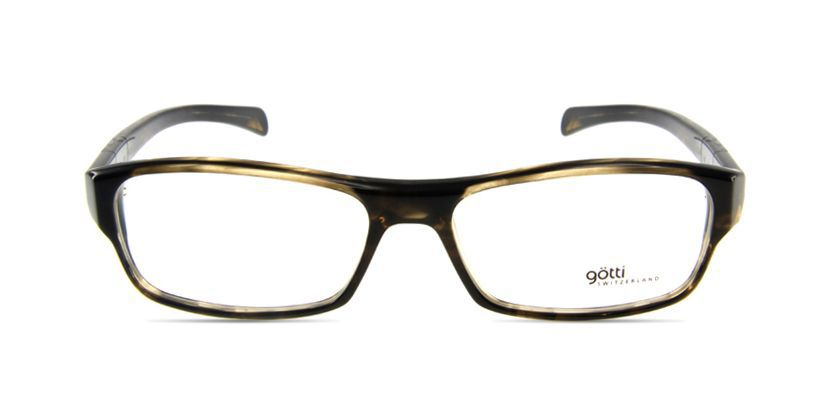 Gotti GTCLAYBSBBN Eyeglasses - Front View