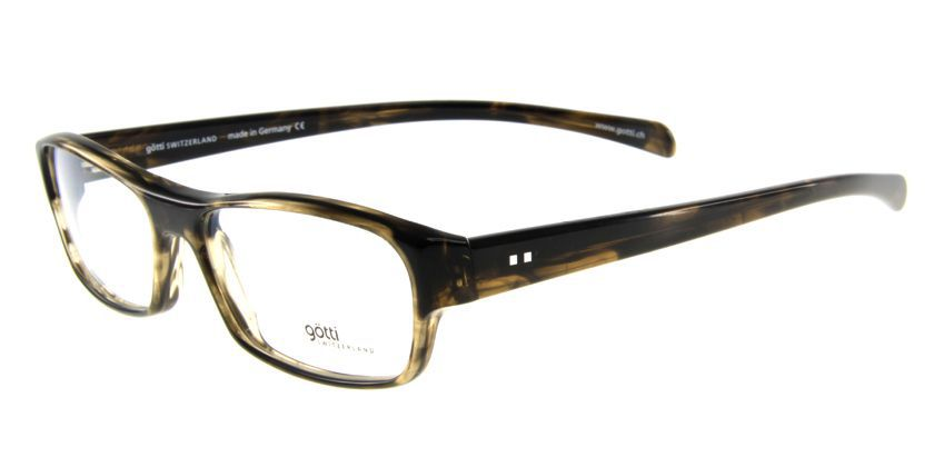 Gotti GTCLAYBSBBN Eyeglasses - 45 Degree View