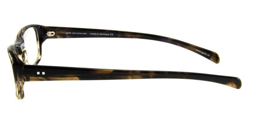 Gotti GTCLAYBSBBN Eyeglasses - Side View