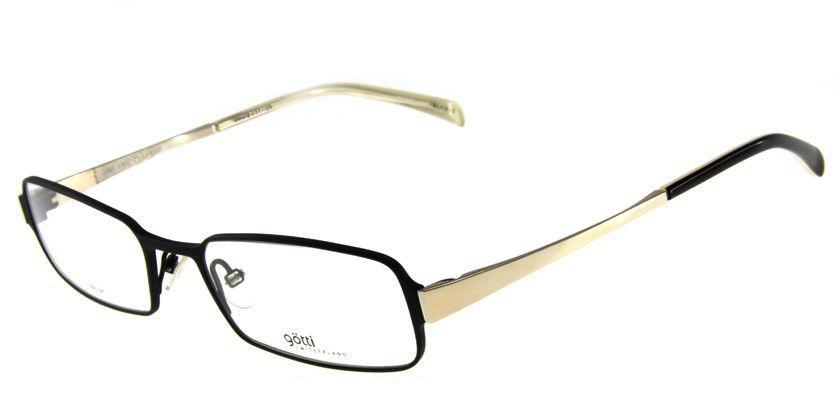 Gotti GTGARYBLKMSBK Eyeglasses - 45 Degree View
