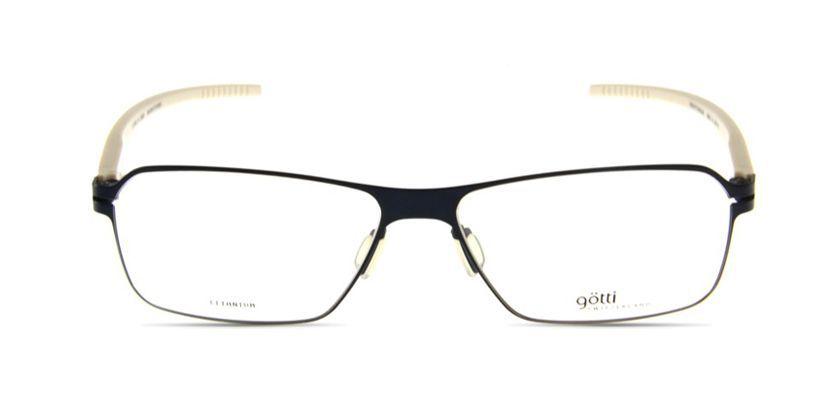 Gotti GTLIAMDVMBK Eyeglasses - Front View