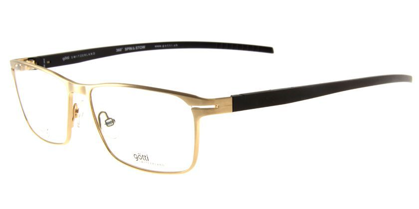 Gotti GTLOPEZGLBYL Eyeglasses - 45 Degree View