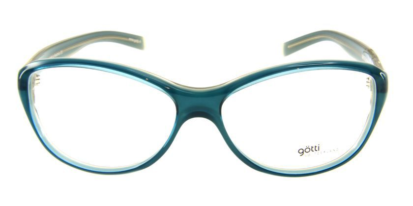 Gotti GTMYRTATRYGN Eyeglasses - Front View