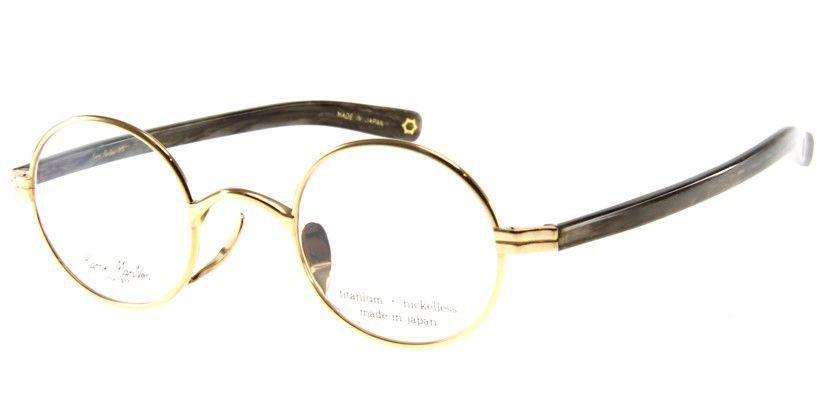 KameManNen KMN331 Eyeglasses - 45 Degree View