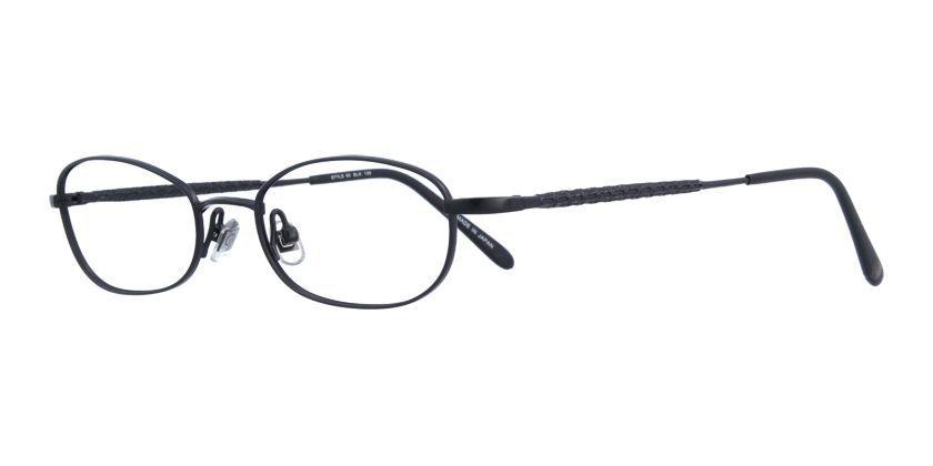 Kata STYLE90BLK Eyeglasses - 45 Degree View
