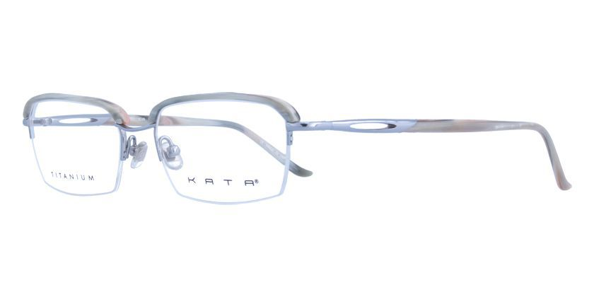 Kata THEROSLVR Eyeglasses - 45 Degree View
